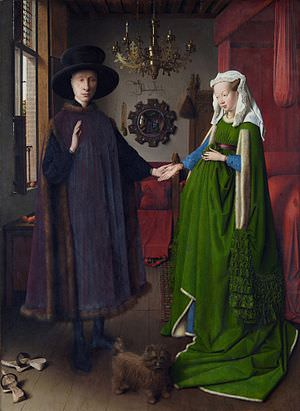 Van Eyck - Arnolfini Marriage (1434)