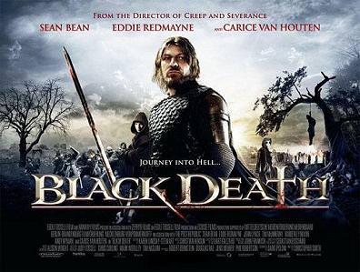 BLACK DEATH Movie Poster Horror Black Plague Game of Thrones Sean Bean