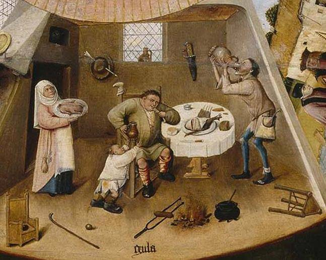 Stigmatization of obesity in medieval times: Asia and Europe