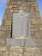 Bannockburn_Monument_plaque