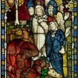 Conservators working on the restoration of the Great East Window at York Minster have completed the conservation of half of the panels in the stunning medieval window depicting the story of the Apocalypse.