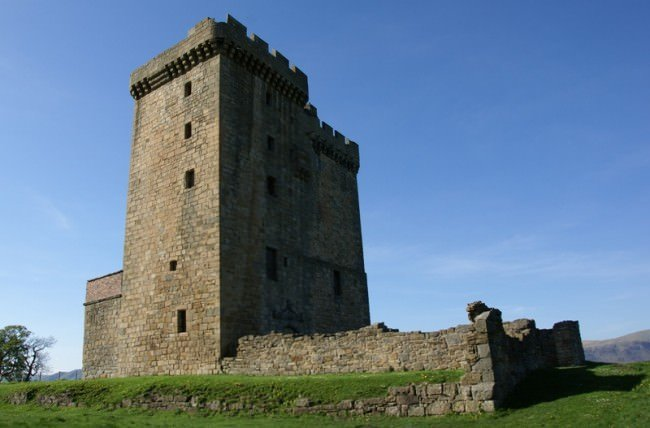 How Many Tower Houses Were There In The Scottish Borders