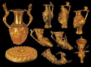 Bulgarian Preslav gold treasure