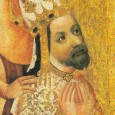 The Bohemian Charles IV (1316 – 1378) was crowned King of Bohemia in 1347, King of the Romans in 1349, and Holy Roman Emperor in 1355.
