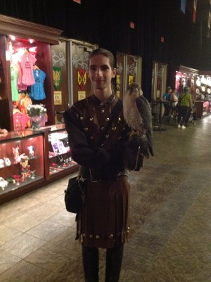 Medieval Times - Falconry