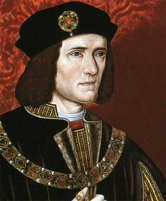 King Richard III, by unknown artist, late 16th century