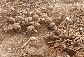 Viking Warrior grave