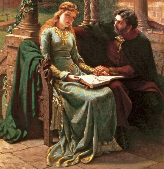 Modern depiction of  Peter Abelard and Heloise