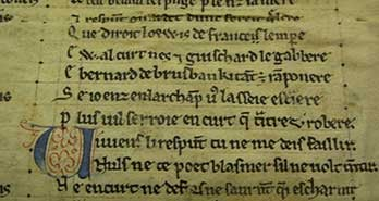 Scholars discover fragments of French medieval epics