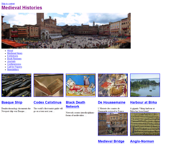 Five new websites for medievalists