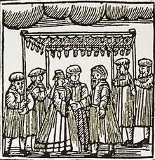 Early modern Jewish wedding