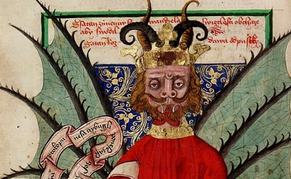 15th century depiction of Satan