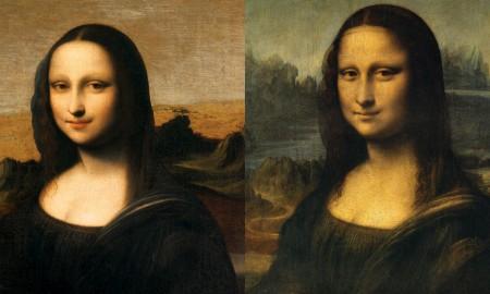 An earlier version of the Mona Lisa?