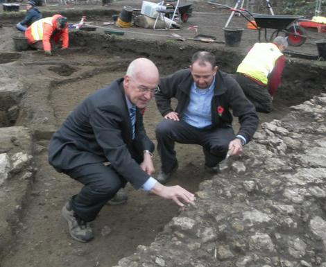 Medieval Nunnery excavated in Oxford