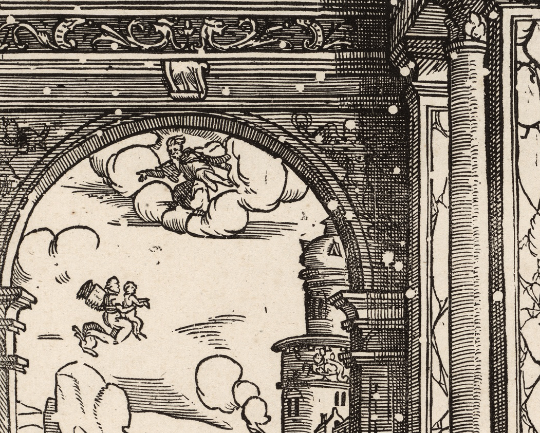 Wormholes from centuries-old art prints reveal history