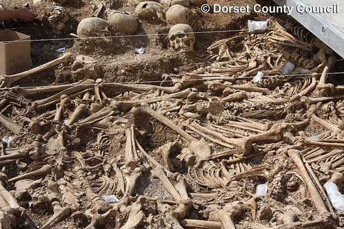 Death on the Dorset Ridgeway: a Viking Murder Mystery - photo courtesy Dorset County Council