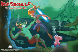 """Kid Beowulf"" – A New Graphic Novel for Kids!"