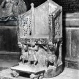 Until the twentieth century, the throne was universally held to have been sculpted in or immediately before 1098 for Elias, the abbot of San Nicola and archbishop of Bari and Canosa.