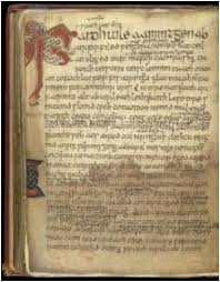 Medieval Celtic Law text