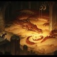When Bilbo, and the readers of The Hobbit, are confronted with the dragon, they are in for a surprise, as Smaug's behaviour is somewhat unusual for a dragon.