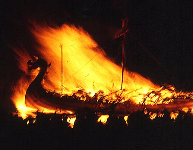 Up Helly Aa - the Burning Galley
