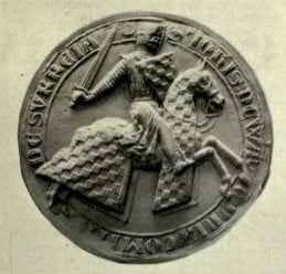 Seal of John de Warenne, earl of Surrey