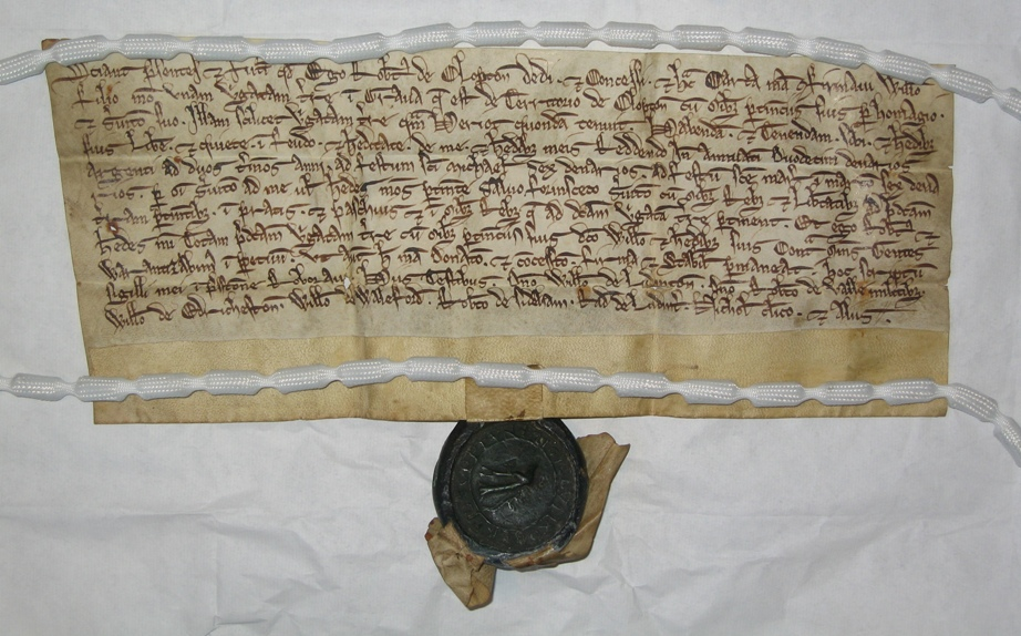 medieval English charters