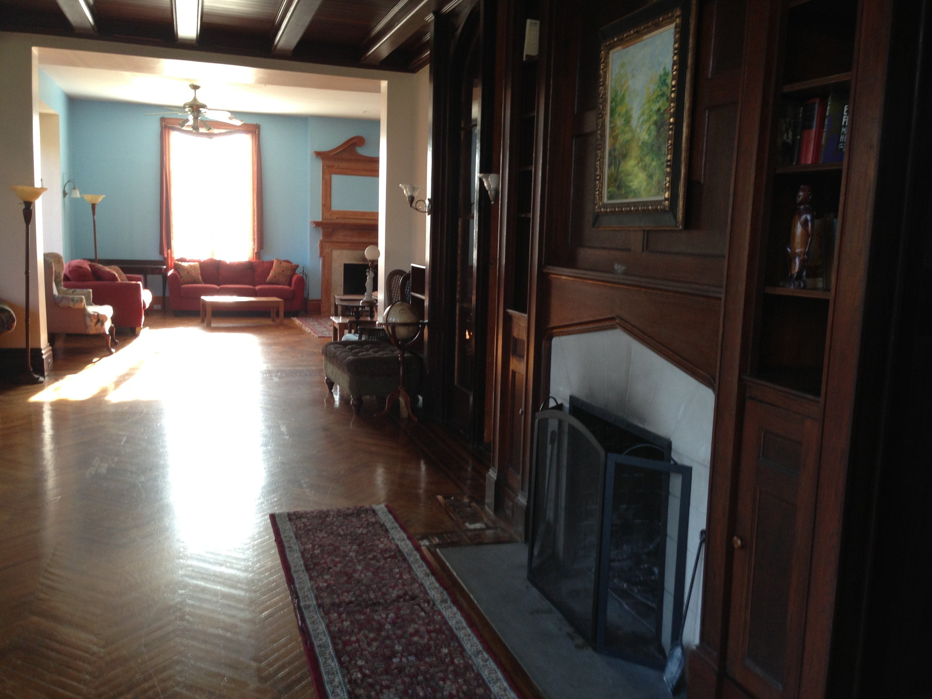 Gothic Revival Interior Design 19th-century gothic revival house for sale in new york