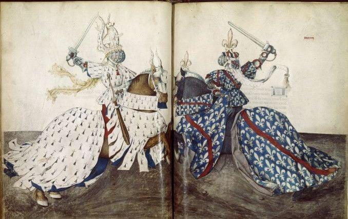 A Burgundian Death: The tournament in Le Chevalier Délibéré