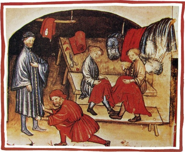 Medieval tailors