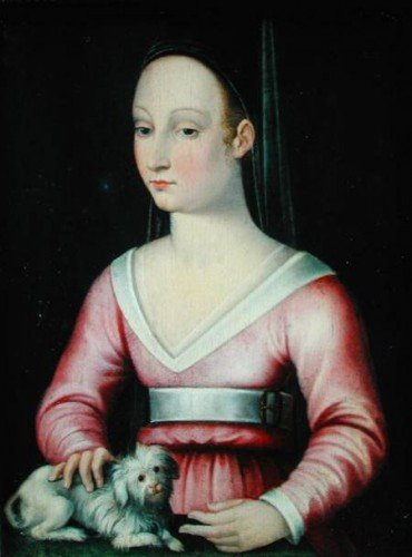 15th century portrait of Agnès Sorel