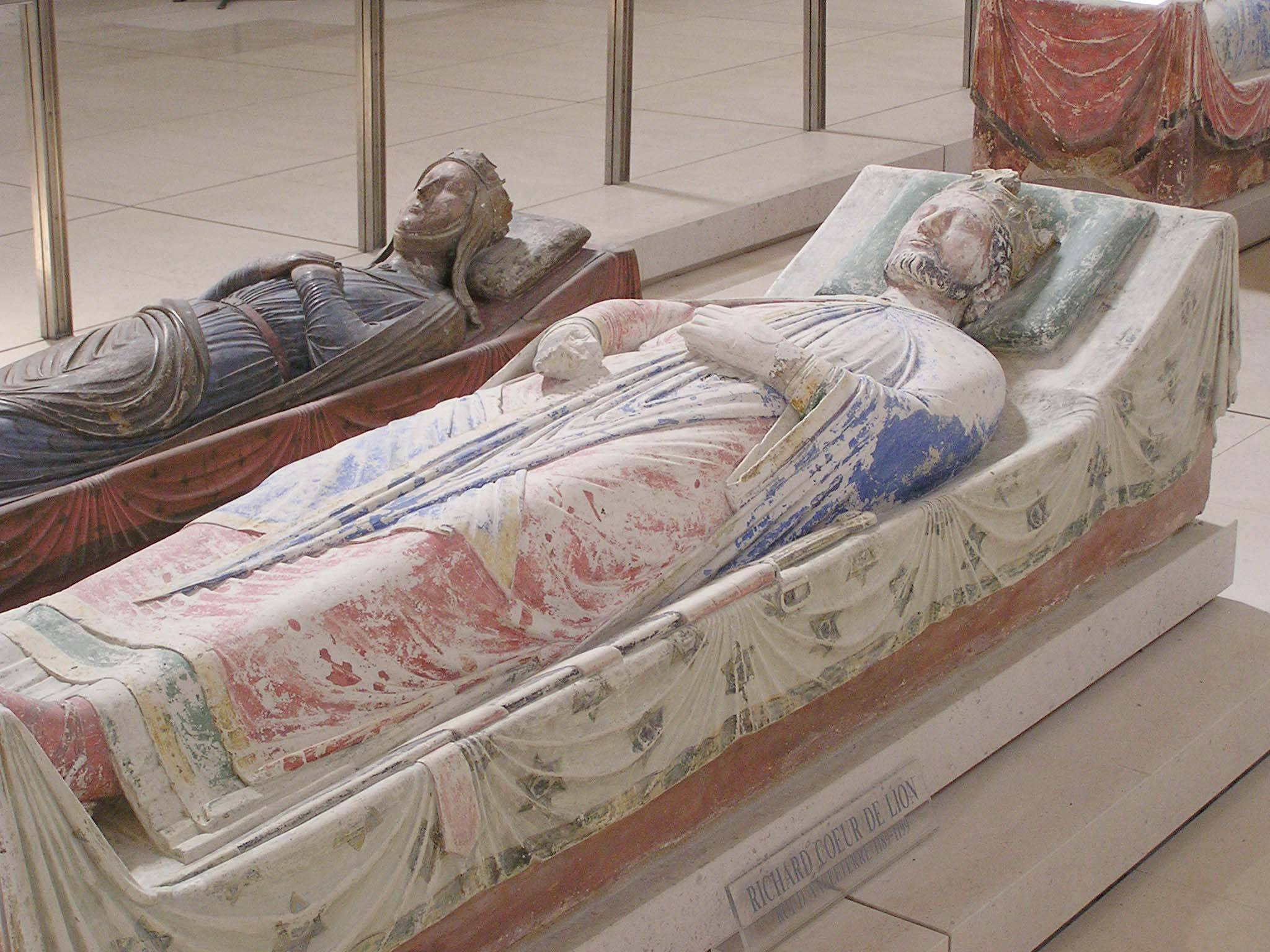 We performed a full biomedical analysis of the mummified heart of the English King Richard I (1199 A.D.). Here we show among other aspects, that the organ has been embalmed using substances inspired by Biblical texts and practical necessities of desiccation