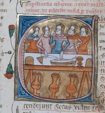 Medieval food
