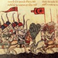 On August 20, 636 AD, a battle was fought in Syria between the Roman army and a Saracen force made up of allied Arab tribes which during the previous decade had been converted to the new monotheistic religion of the prophet Mohammed.