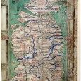 In the middle decade of the thirteenth century, the Benedictine monk and historian Matthew Paris drew four regional maps of Britain. The monk's works stand as the earliest extant maps of the island and mark a distinct shift from the cartographic traditions of medieval Europe.