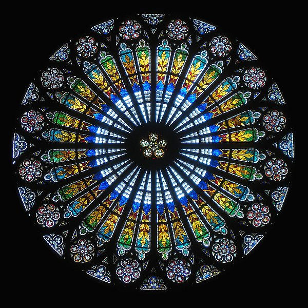 The Development Of Stained Gl In Gothic Cathedrals