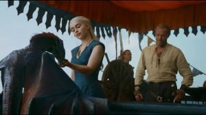 Game of Thrones - Daenerys Targaryen and Ser Jorah Mormont