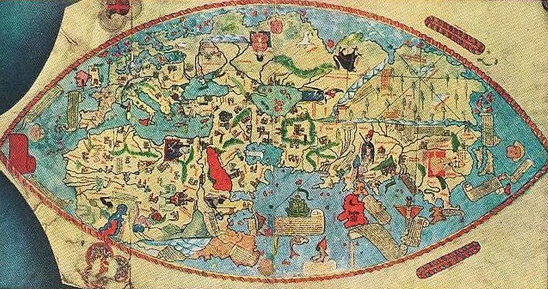 The So Called Genoese World Map Of 1457 A Stepping Stone Towards