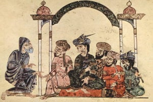 How to be a party-crasher in the Middle Ages