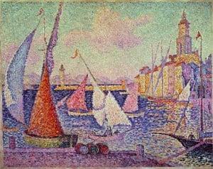 Paul Signac: Port St. Tropez, 1899