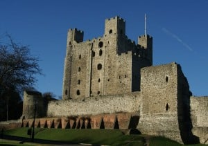 The real Rochester Castle