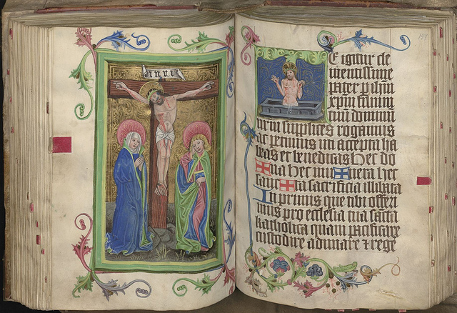 "Shown here is ""The Great Missal"", from the Church of Mary Magdalene in Wroclaw, circa 1470, part of the Wroclaw University Library archives being digitized and made available online for the first time with IBM technology.  Photo courtesy of Wroclaw University Library, Poland"