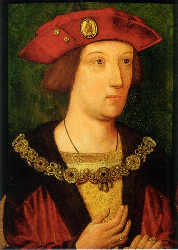 Arthur Prince of Wales c. 1500, 39.1 x 28 cm., oil on panel, in the Royal Collection