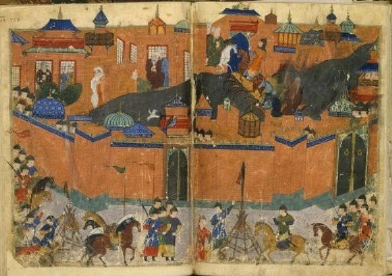 Mongol siege of Bagdad in 1258