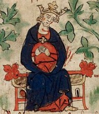 Henry I mourning the death of his son