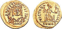 Western Turks and Byzantine gold coins found in China