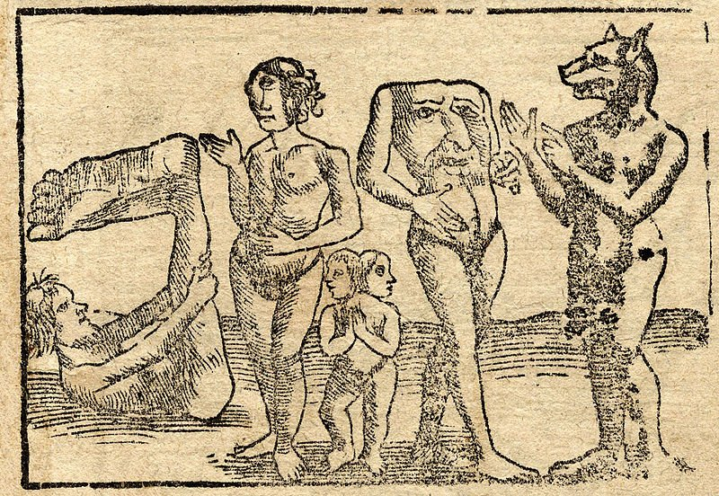 The role of mythical and imaginary figures in the mental framework of medieval society