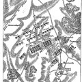 Map of the Battle of Agincourt from 1894