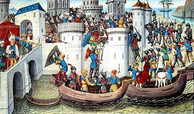 http://www.medievalists.net/wp-content/uploads/2013/09/ConquestOfConstantinopleByTheCrusadersn1204-650x383.jpg