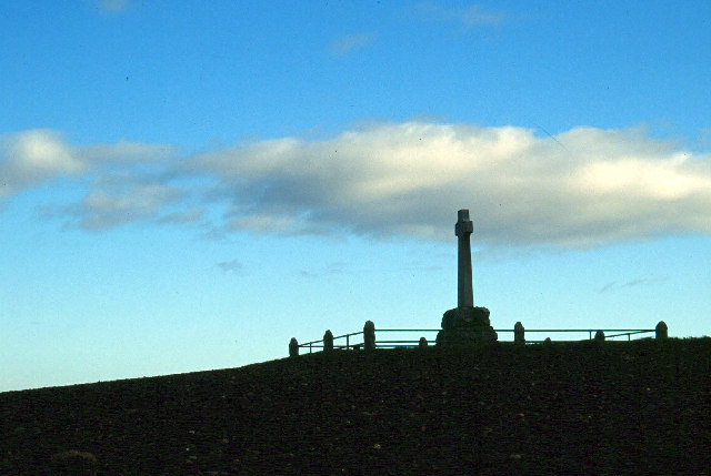 Flodden Memorial at the site of the battle - photo by Stephen McKay